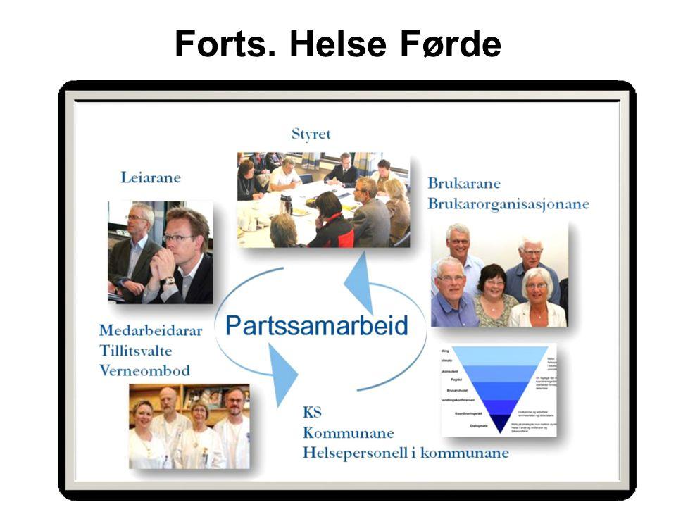 Britt V. Danielsen, Omstillingsenheten Forts. Helse Førde