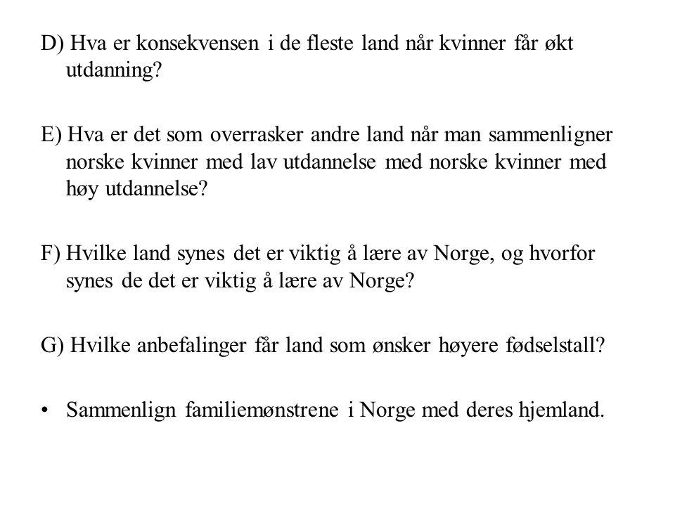 STATISTIKK – ANALYSE AV FIGURER OG TABELLER Les hver deres presentasjon/analyse av en figur, og noter stikkord slik at du kan gjenfortelle innholdet: 1) De 15 største innvandrergruppene i Norge 2) Andel nordmenn i alderen 16-24 år som røyker daglig eller av og til Gå sammen to og to (1+2) og presenter figurene på bakgrunn av tekstene dere har lest.