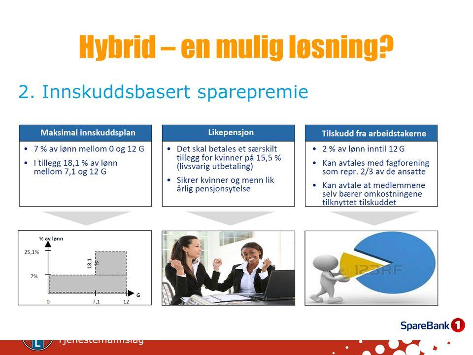 Hybrid – en mulig løsning?