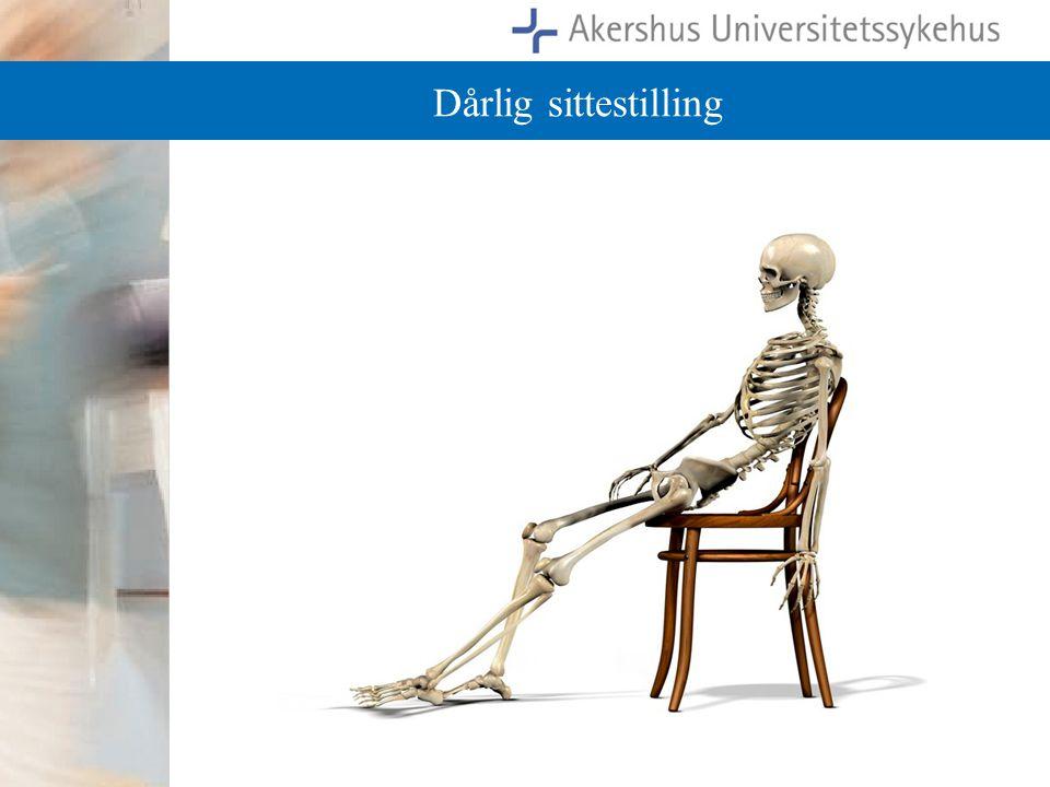 Dårlig sittestilling