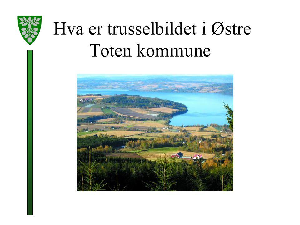 Hva er trusselbildet i Østre Toten kommune