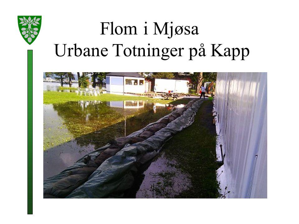Flom i Mjøsa Urbane Totninger på Kapp