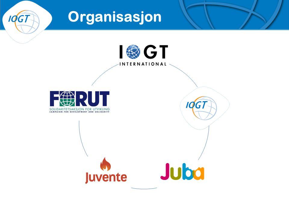IOGTs VISJON Organisasjon