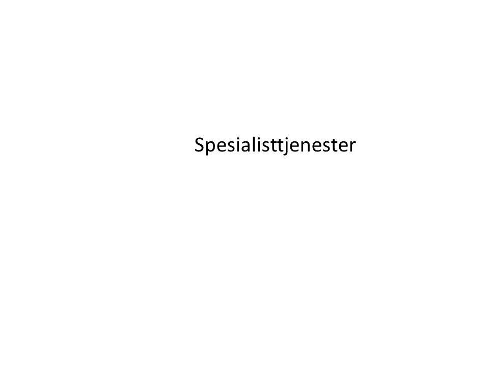 Spesialisttjenester