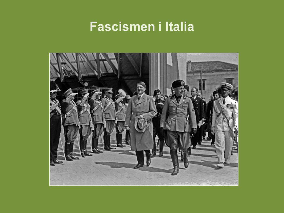Fascismen i Italia
