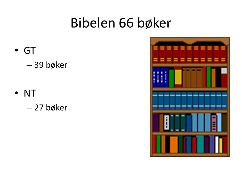 Bibelens innhold.