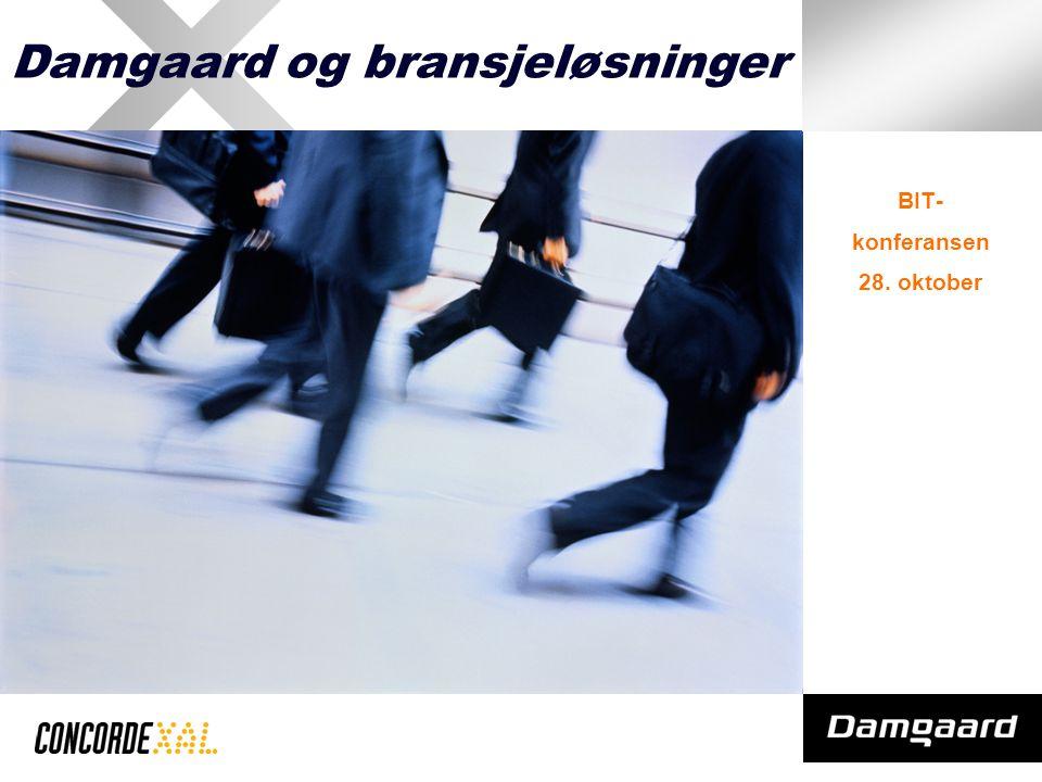 Damgaard og bransjeløsninger BIT- konferansen 28. oktober