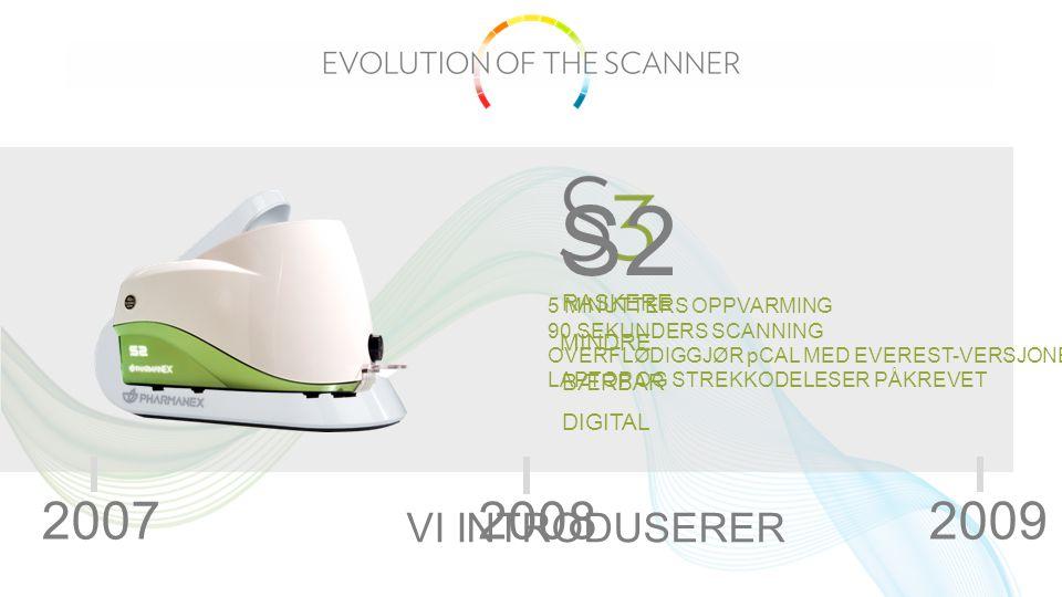 Det er gjort store fremskritt i løpet av årene og scanneren er nå bærbar, raskere og enklere.