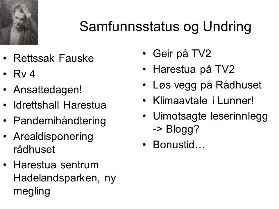 Samfunnsstatus og Undring Rettssak Fauske Rv 4 Ansattedagen.
