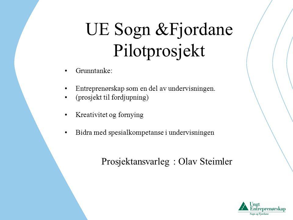 Tre skular i pilot Høyanger Måløy Eid Ulike prosjekt innan yrkesfag og allmennfag Deltek i kreative og motiverande prosessar ved kvar av skulane.
