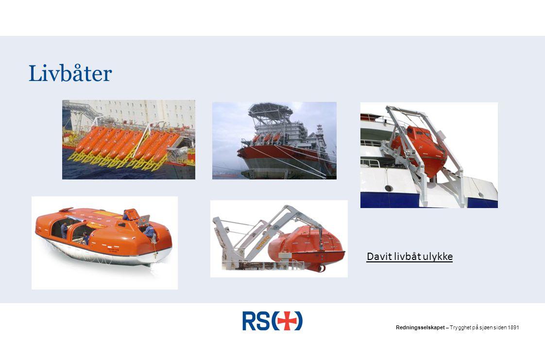 Livbåter Davit livbåt ulykke