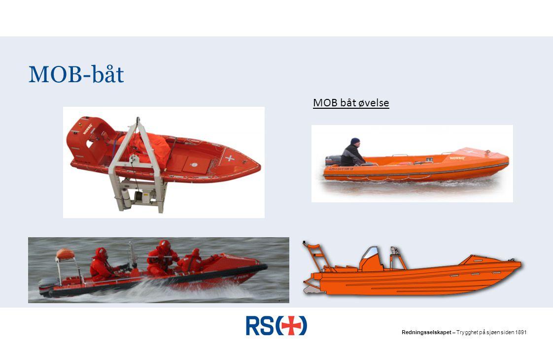 Redningsselskapet – Trygghet på sjøen siden 1891 MOB-båt MOB båt øvelse