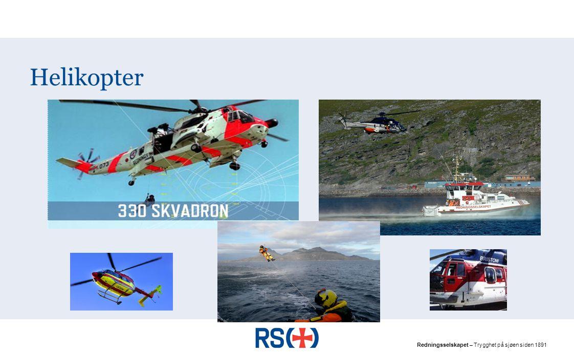 Redningsselskapet – Trygghet på sjøen siden 1891 Helikopter