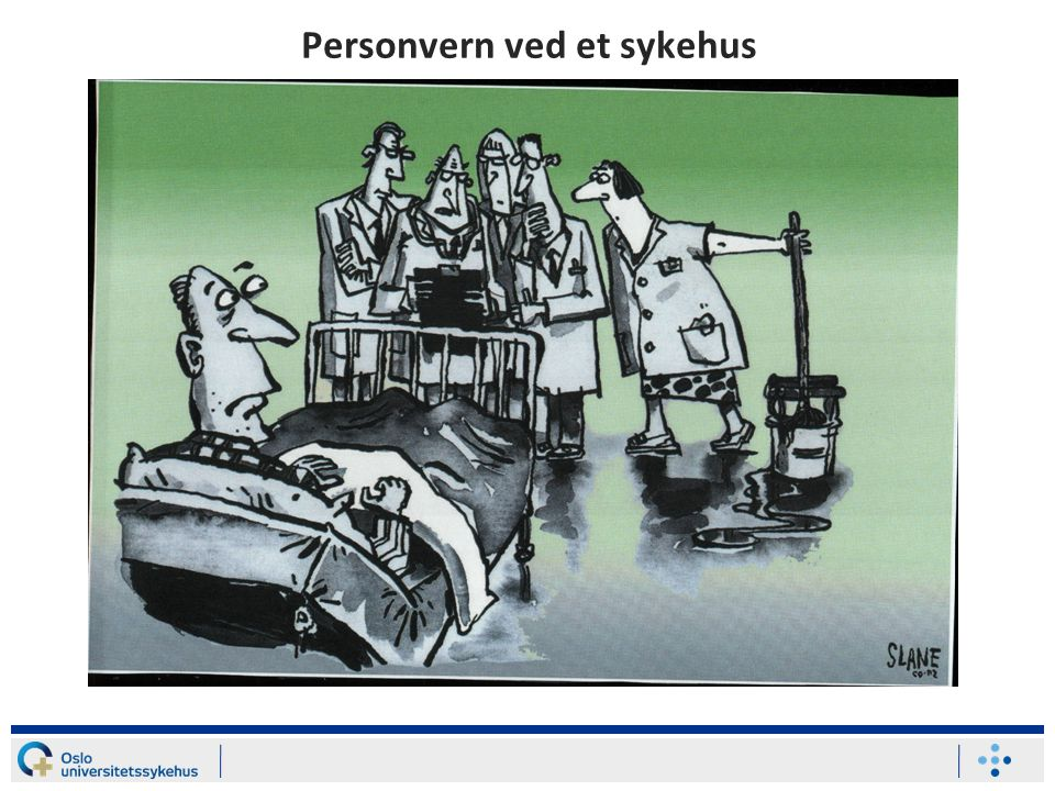 Personvern ved et sykehus
