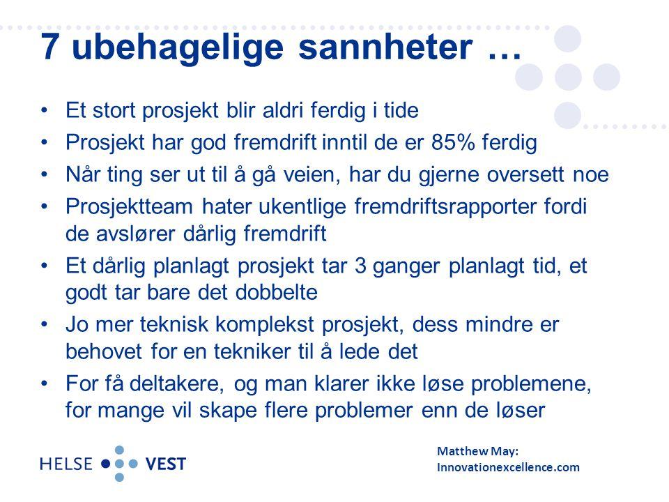 Dei største: - Program Klinisk IKT og kurve/legemiddel (KULE) -Program Støtte til Samhandling -Digitalt Mediaarkiv (DMA) -RIS/PACS konsolidering -Alle Møter -Avansert oppgaveplanlegging -Vestlandspasienten.no -Økonomi, innkjøp, logistikk (LIBRA) 28 50-60 aktive prosjekt og program