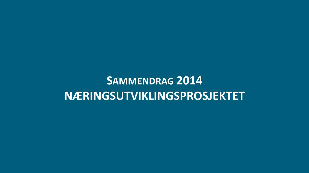 S AMMENDRAG 2014 NÆRINGSUTVIKLINGSPROSJEKTET