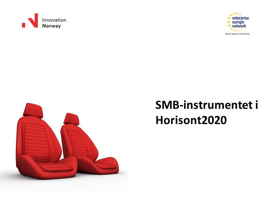 SMB-instrumentet i Horisont2020