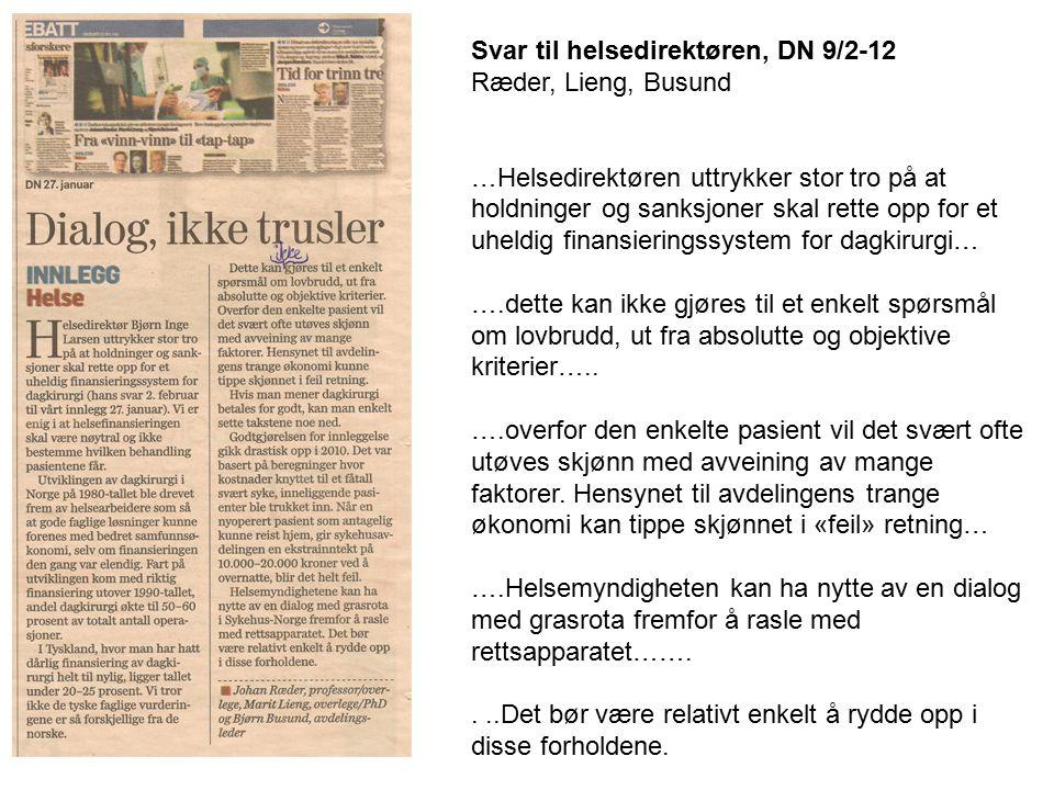 Finansavisen, 30/1-2012