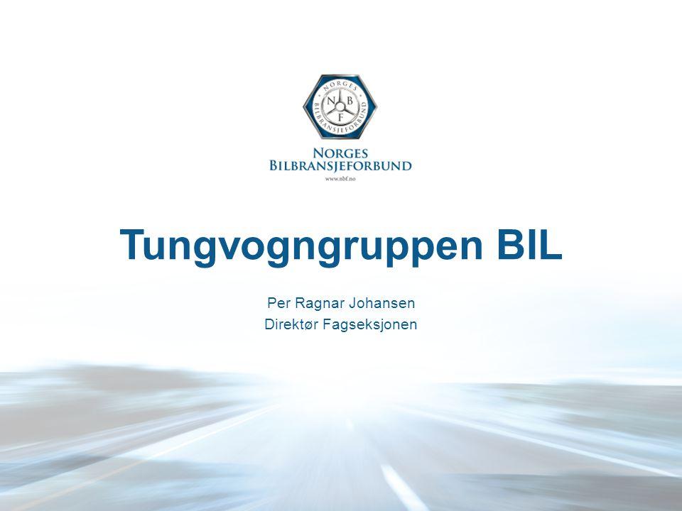 Tungvogngruppen BIL Per Ragnar Johansen Direktør Fagseksjonen