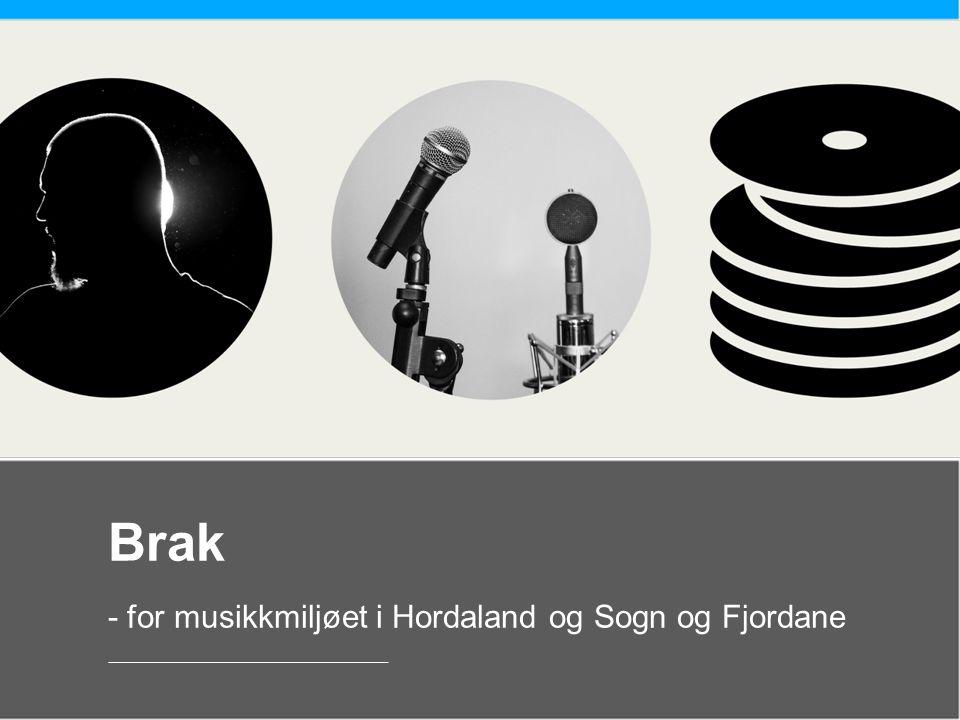 Brak - for musikkmiljøet i Hordaland og Sogn og Fjordane