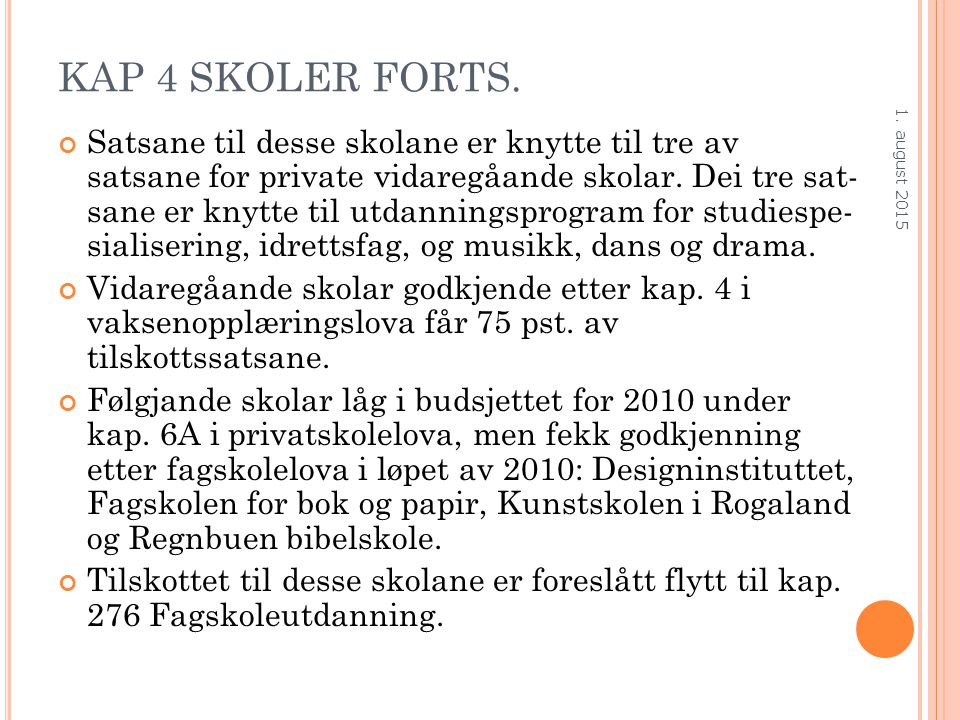 KAP 4 SKOLER FORTS.