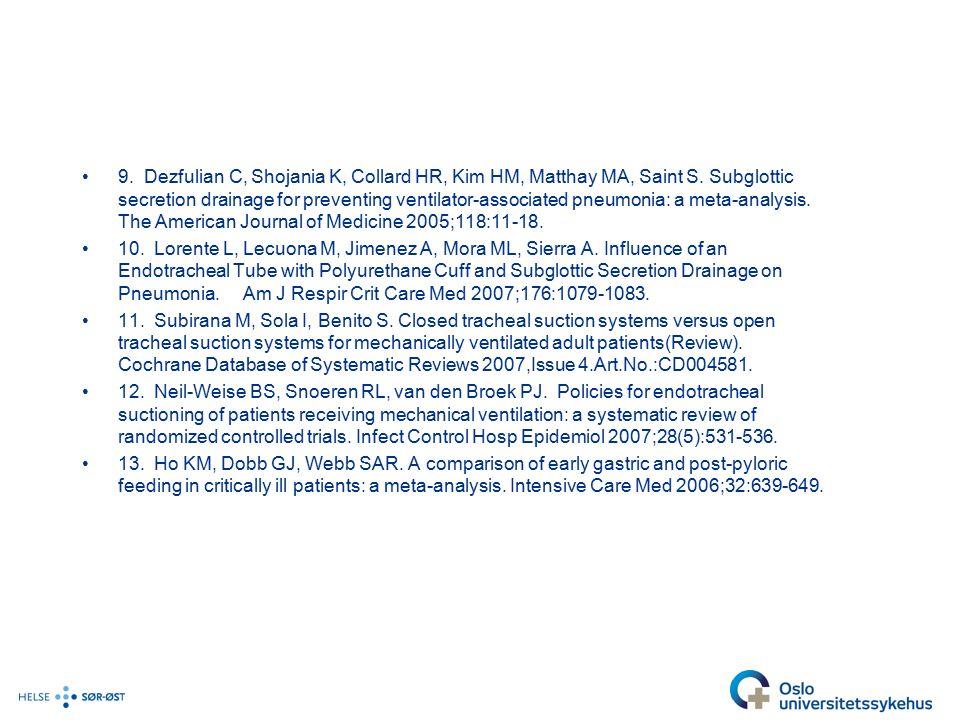 9.Dezfulian C, Shojania K, Collard HR, Kim HM, Matthay MA, Saint S.