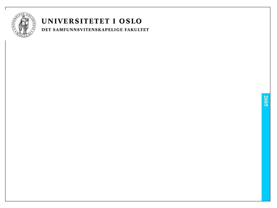 Studieløpet Oppbygging og gjennomføring av studieprogrammet http://www.uio.no/studier/program/eu/present asjon/oppbygging-gjennomforing.html Det er svært viktig å oppfylle kriteriene til graden
