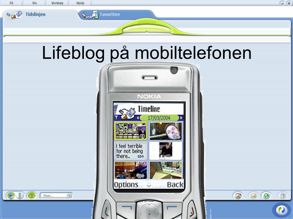 Lifeblog på mobiltelefonen