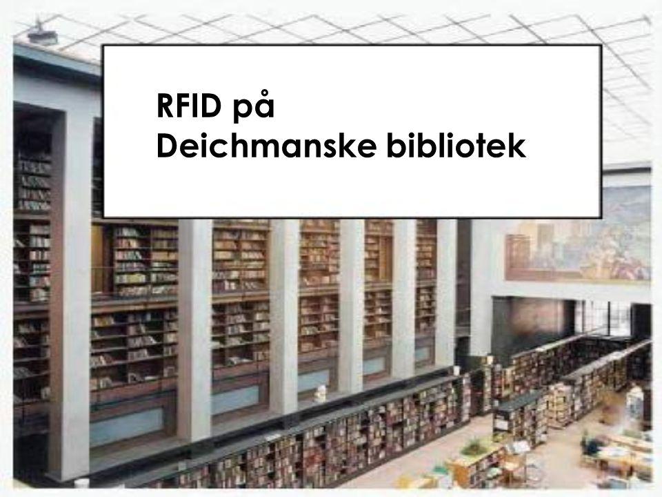RFID på Deichmanske bibliotek