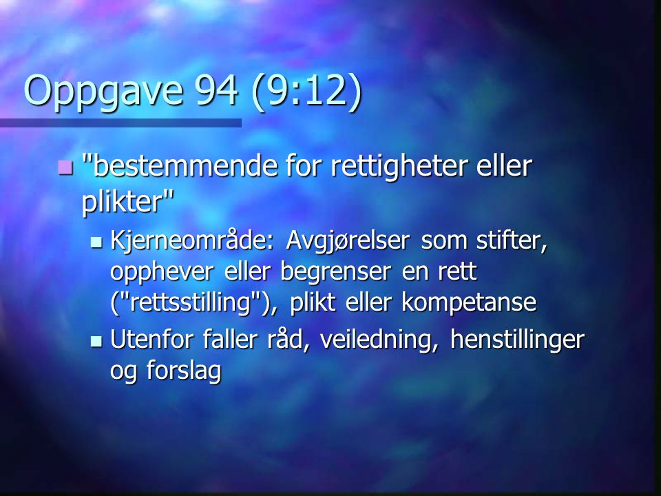 Oppgave 94 (9:12)