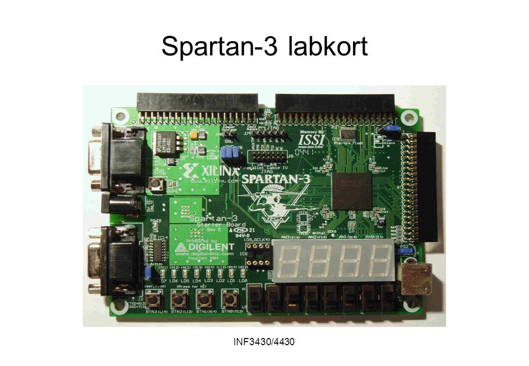 INF3430/4430 Spartan-3 labkort