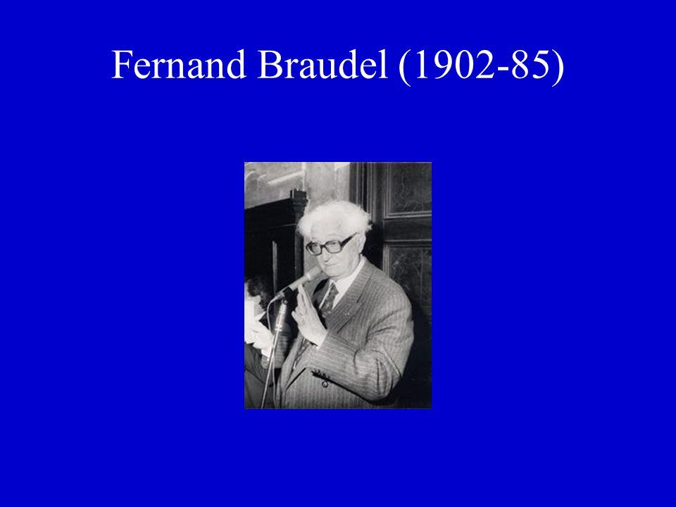 Fernand Braudel (1902-85)