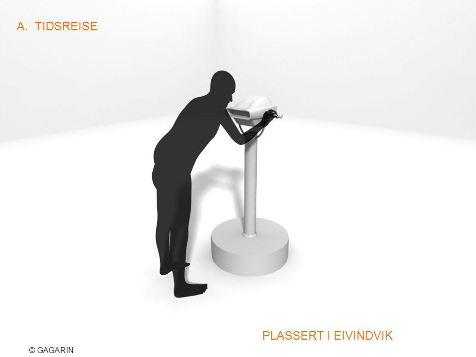 © GAGARIN A. TIDSREISE PLASSERT I EIVINDVIK