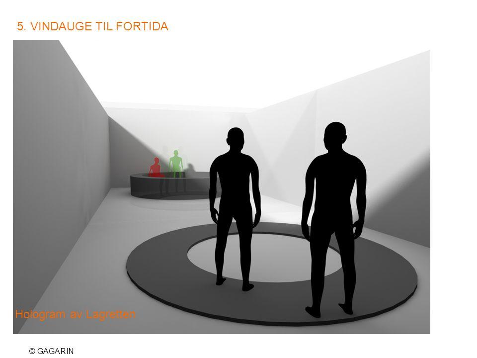 © GAGARIN 5. VINDAUGE TIL FORTIDA Hologram av Lagretten