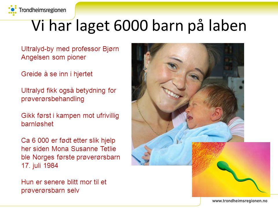 Vi har laget 6000 barn på laben Ultralyd-by med professor Bjørn Angelsen som pioner Greide å se inn i hjertet Ultralyd fikk også betydning for prøverø