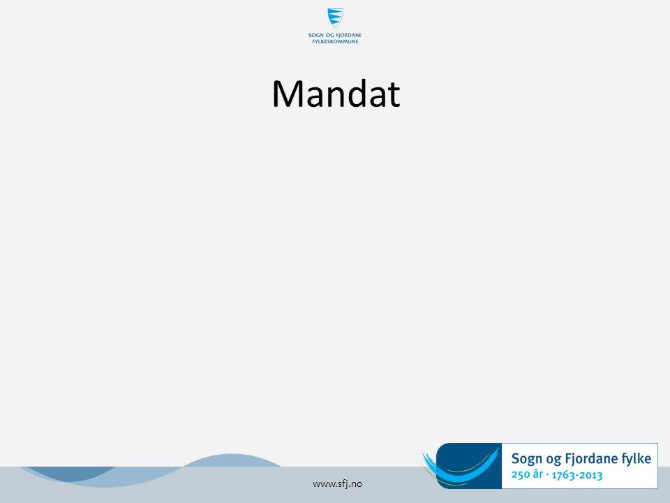 Mandat www.sfj.no