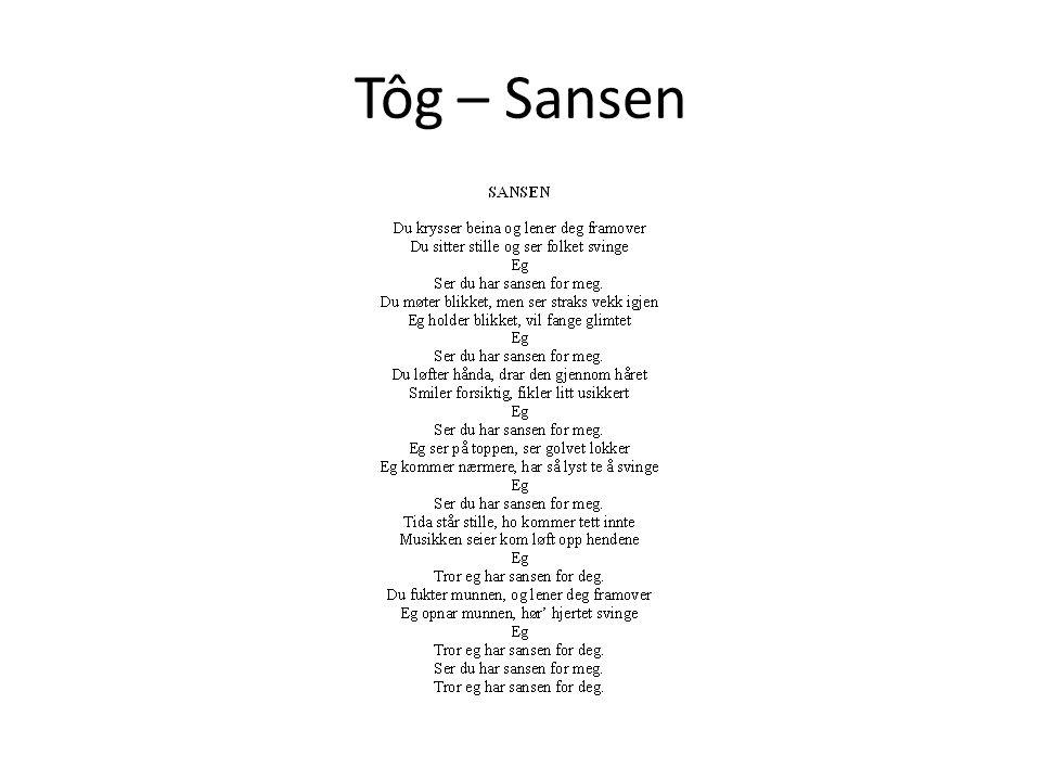 Tôg – Sansen
