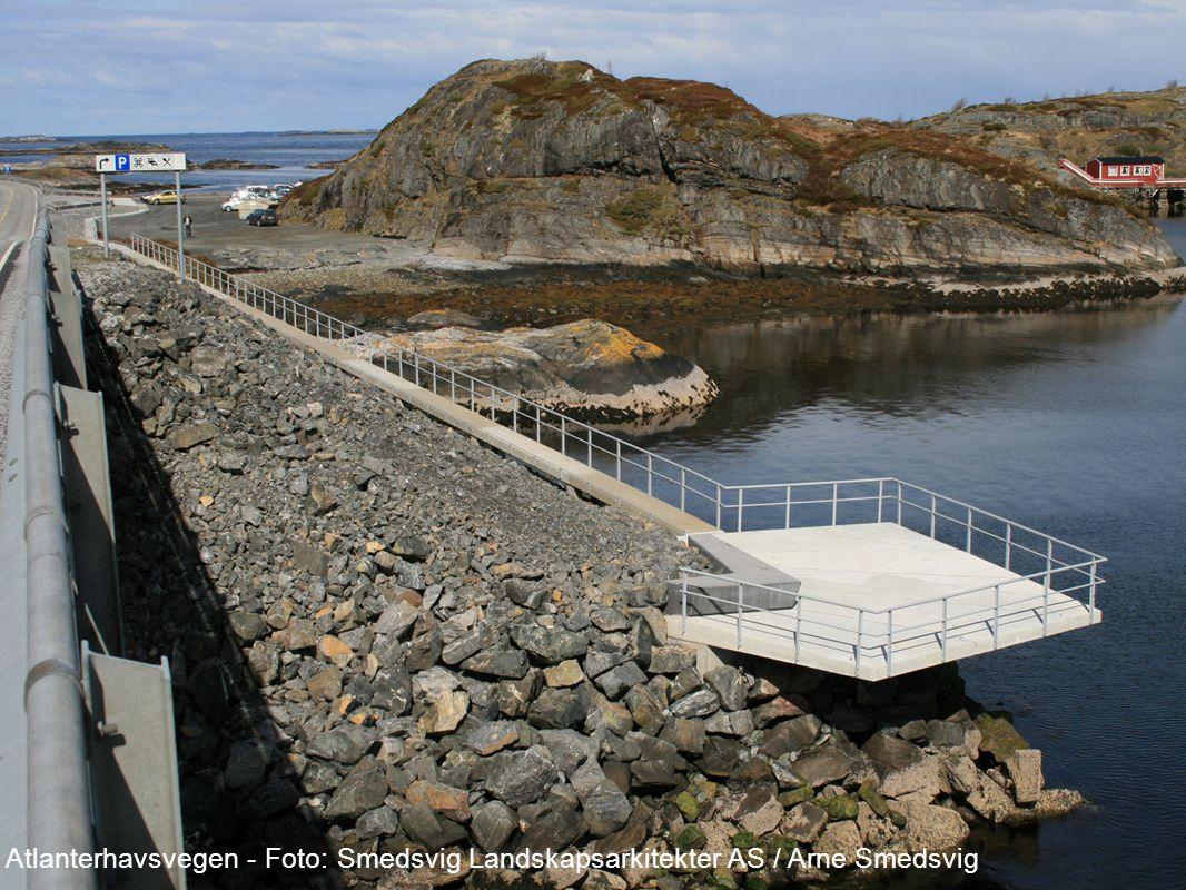 Universell utforming 2010 Atlanterhavsvegen - Foto: Smedsvig Landskapsarkitekter AS / Arne Smedsvig