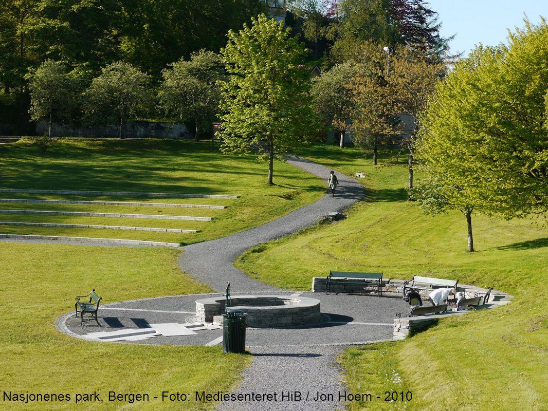 Nasjonenes park, Bergen - Foto: Mediesenteret HiB / Jon Hoem - 2010