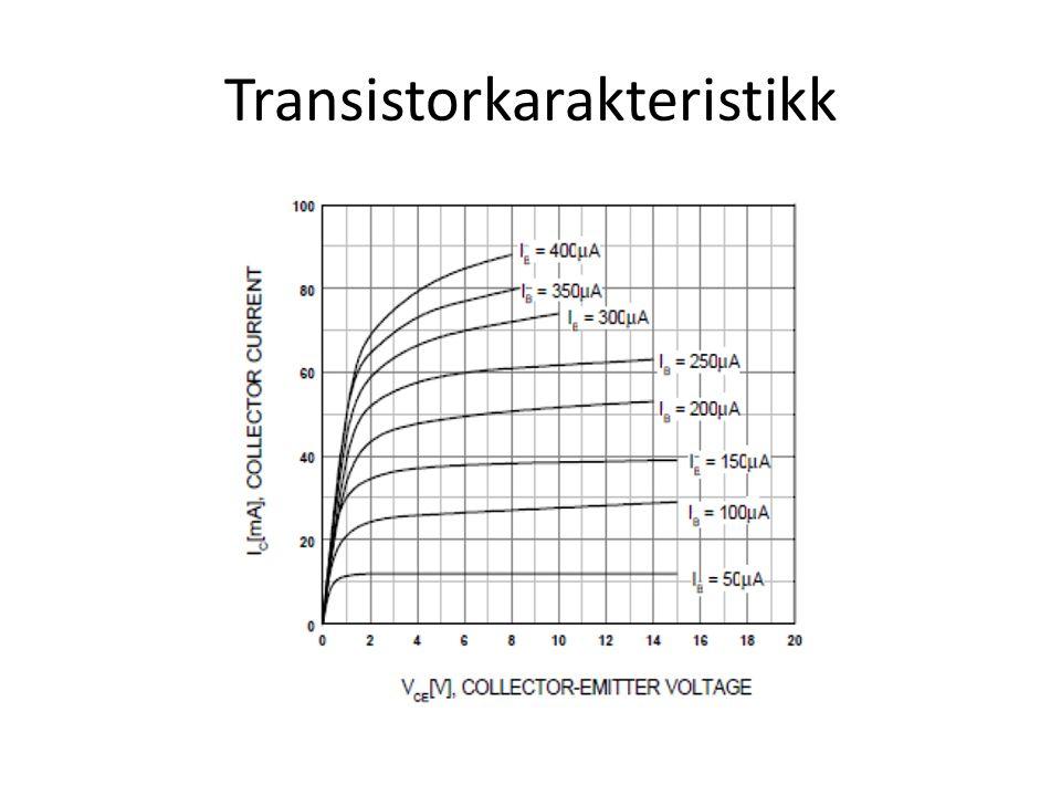 Transistorkarakteristikk