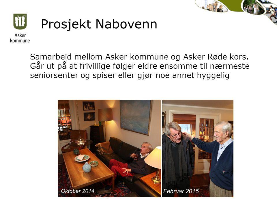 Prosjekt Nabovenn Samarbeid mellom Asker kommune og Asker Røde kors.