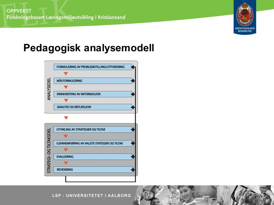 Pedagogisk analysemodell