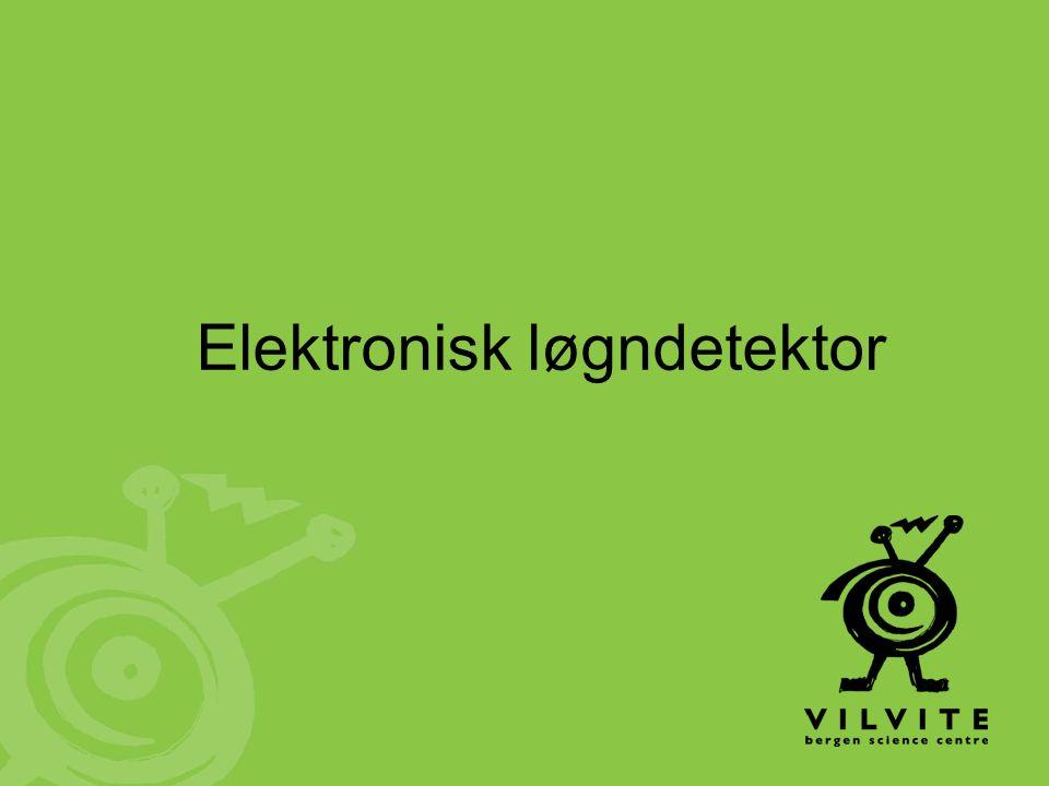 Elektronisk løgndetektor