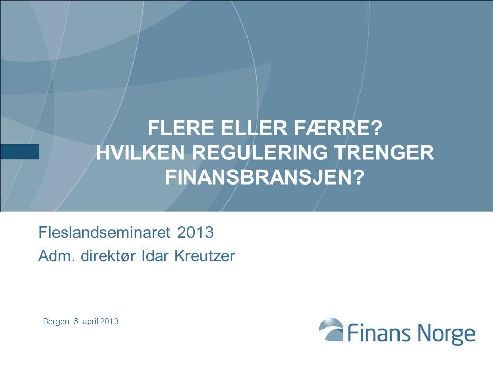 Speiler norsk næringsstruktur Kilde: Bankenes Sikringsfonds database * DNB og Nordea inngår ikke i søylediagrammet, men er inkludert i gjennomsnittsnivået Per 31.12.11 var FVK i DNB og Nordea hhv.
