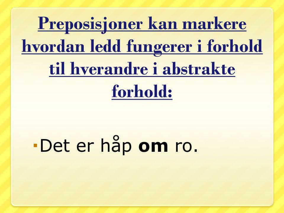 Foran de fleste norske stedsnavn brukes i, men foran en del navn er på den rette preposisjonen fra gammelt.