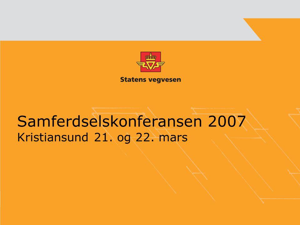 Samferdselskonferansen 2007 Kristiansund 21. og 22. mars