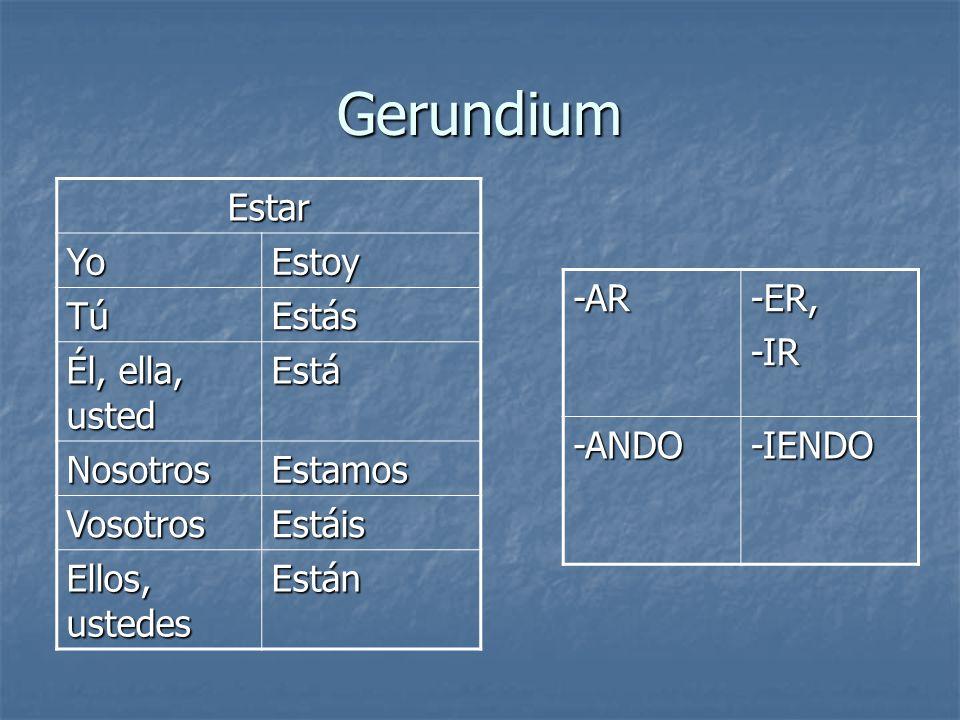Gerundium Praktiser gerundium: Praktiser gerundium: http://www.trinity.edu/mstroud/grammar/g erund.htm http://www.trinity.edu/mstroud/grammar/g erund.htm http://faculty.marianopolis.edu/spanish/Spa nishIV/span4c10et1t12.html http://faculty.marianopolis.edu/spanish/Spa nishIV/span4c10et1t12.html http://www.unameseca.com/Ejercicios/Basic o_2/Gerundio/presentegerundio1.htm http://www.unameseca.com/Ejercicios/Basic o_2/Gerundio/presentegerundio1.htm