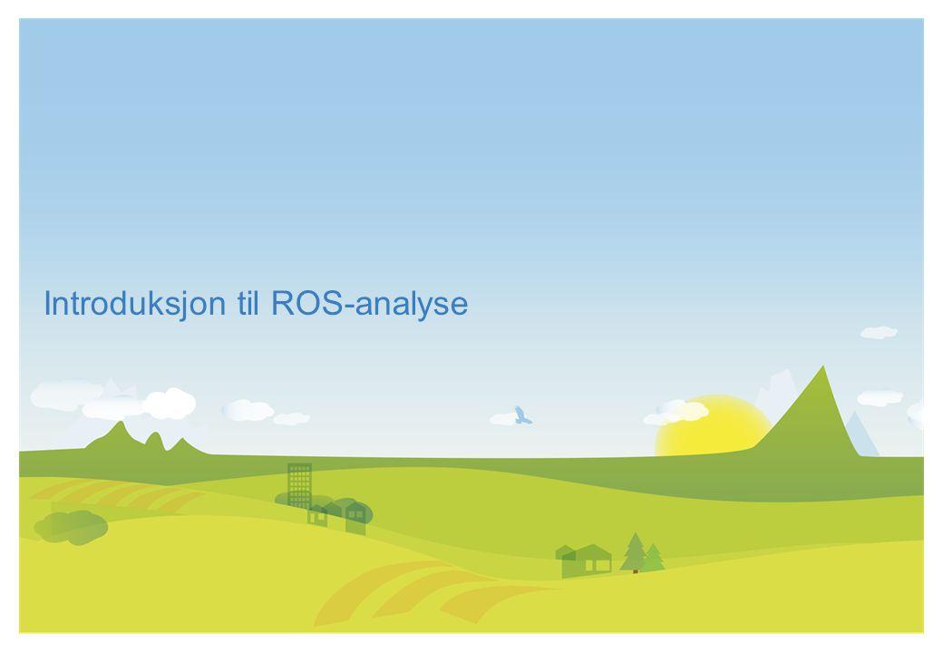 Introduksjon til ROS-analyse