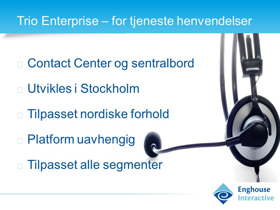 TM Management moduler for Mitel Katalog Auto command Spredenett Billing Statistikk Monitorering PBX monitorering