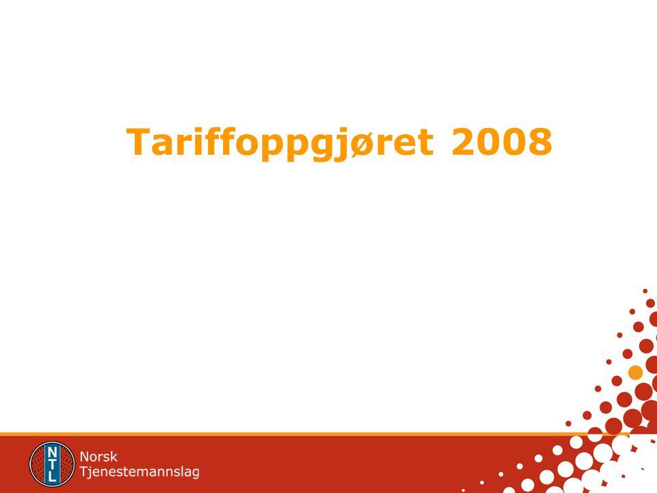 Tariffoppgjøret 2008